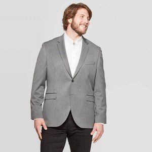 New! Goodfellow Slim Fit Gray Suit Jacket SHORT